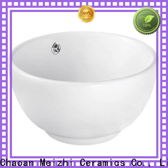 Meizhi ceramic basin directly sale for hotel