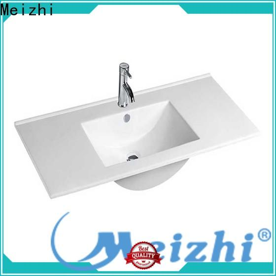Meizhi bathroom basins and cabinets supplier for hotel