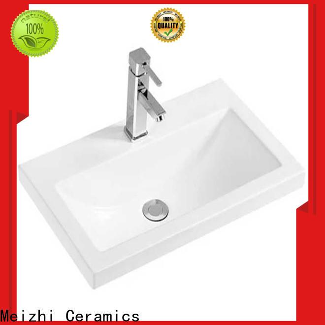 Meizhi vanity basin directly sale for washroom