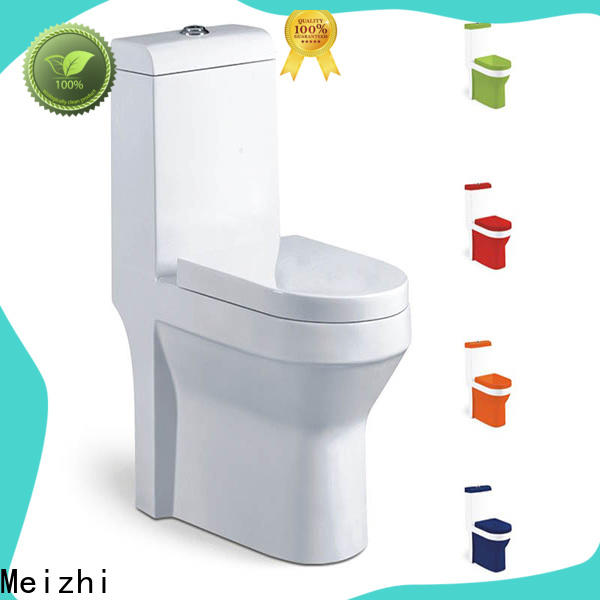 ceramic one piece elongated toilet with good price for bathroom