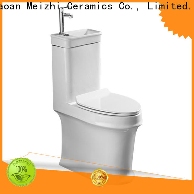 self-cleaning one piece round toilet directly sale for washroom