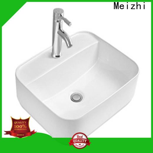 Meizhi wash basin size supplier for home