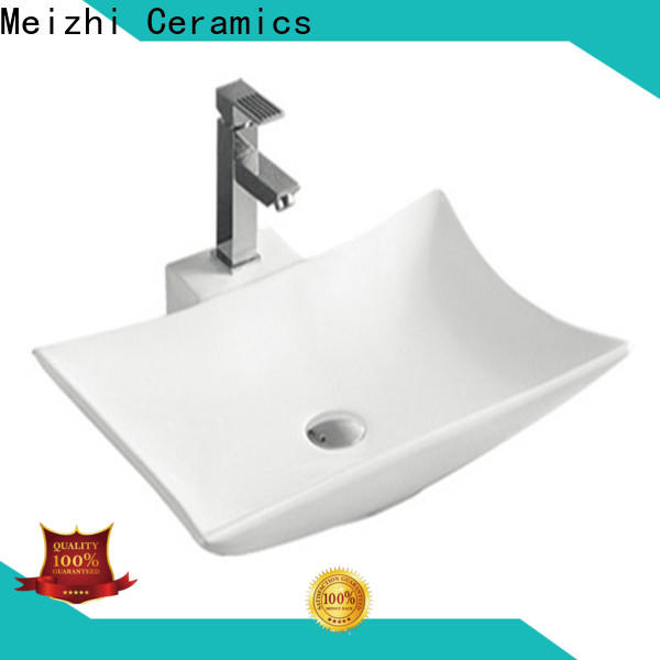 Meizhi ceramic wash basin factory price for bathroom
