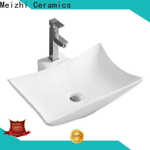 Meizhi ceramic wash basin factory price for bathroom