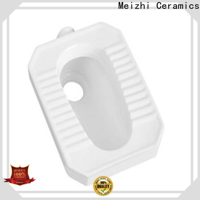 Meizhi hot selling squatting pan customized for bathroom
