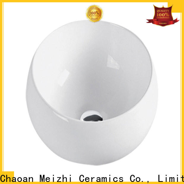 Meizhi ceramic wash basin wholesale for washroom