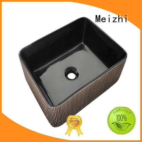 custom design black bathroom basin factory price for bathroom