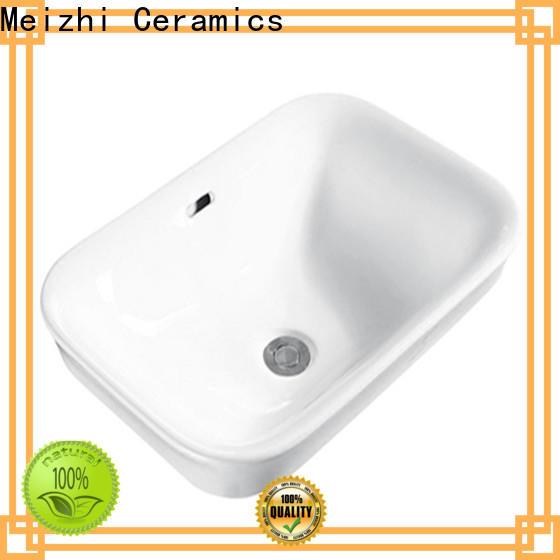Meizhi above counter basins manufacturer for washroom