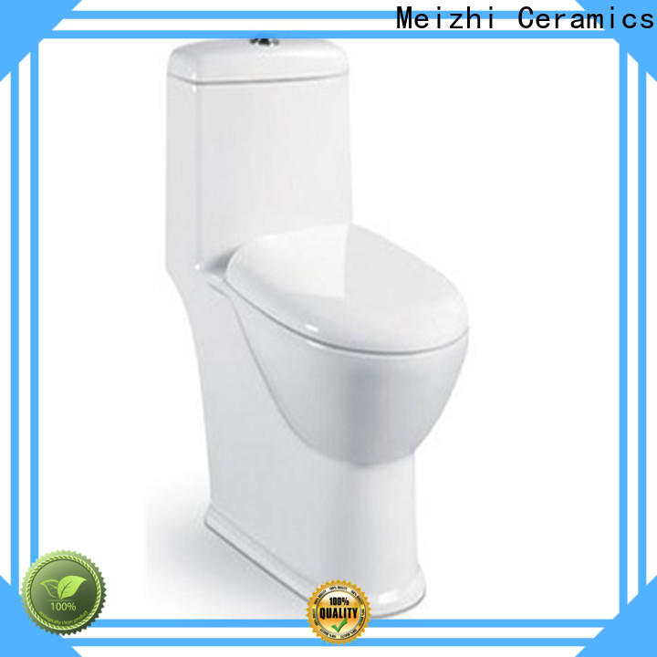 Meizhi new design american standard one piece toilet supplier for washroom
