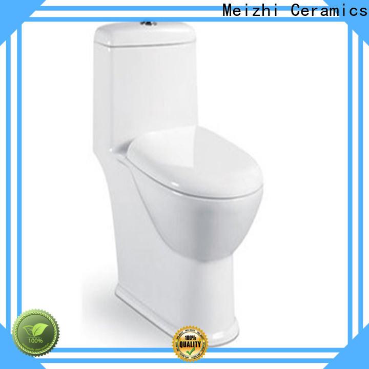 Meizhi new design american standard one piece toilet supplier for washroom