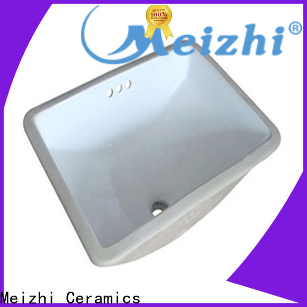 Meizhi contemporary counter top basin wholesale for hotel