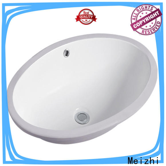 Meizhi popular table top wash basin designs customized for washroom