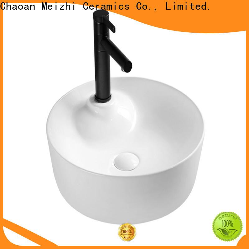 Meizhi modern design toilet hand basin wholesale for hotel
