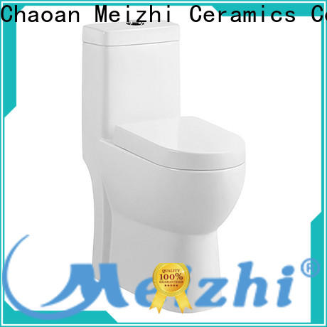 Meizhi american standard one piece toilet supplier for hotel