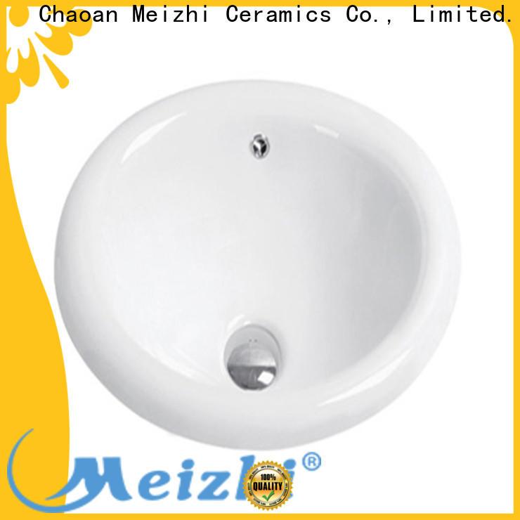 Meizhi ceramic counter top basin manufacturer for hotel