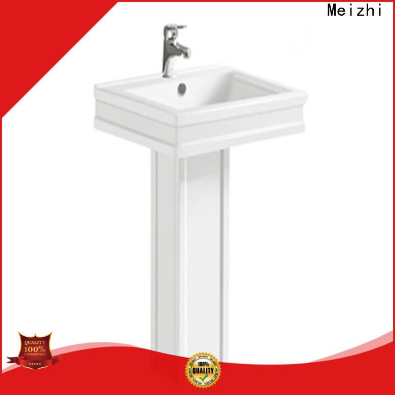 high quality small pedestal sink directly sale for home