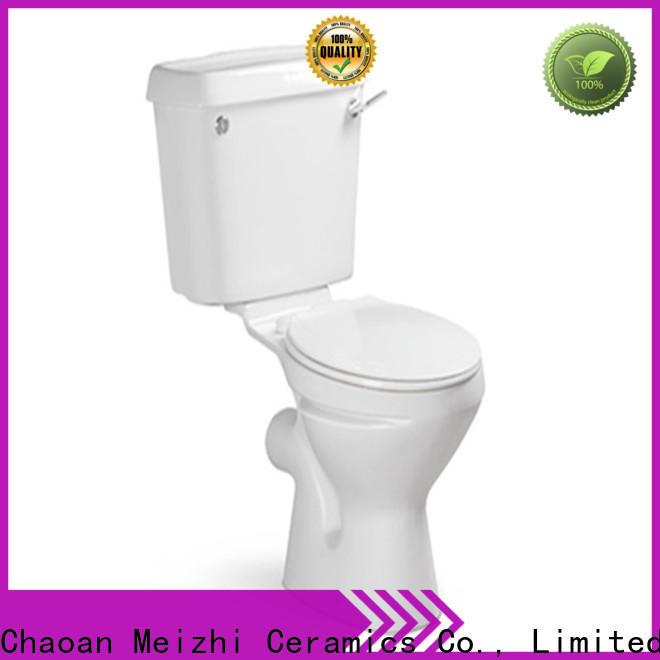 Meizhi two piece toilet wholesale for washroom