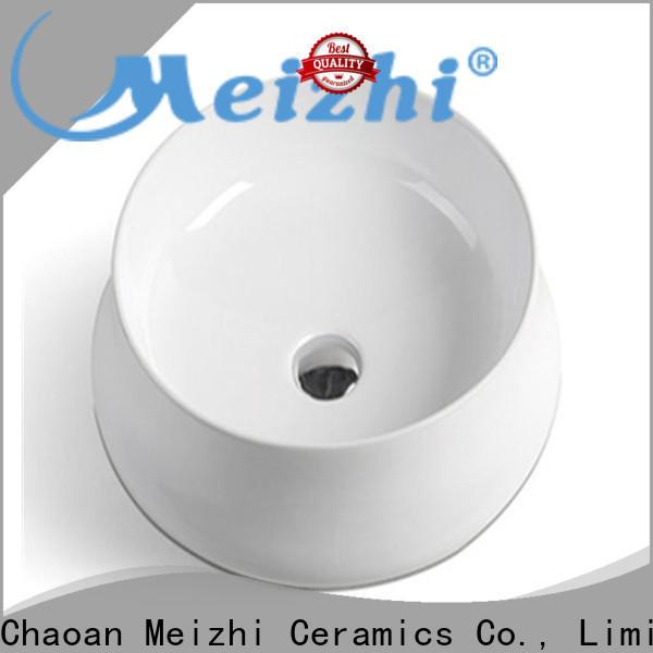 modern design wash basin size customized for home