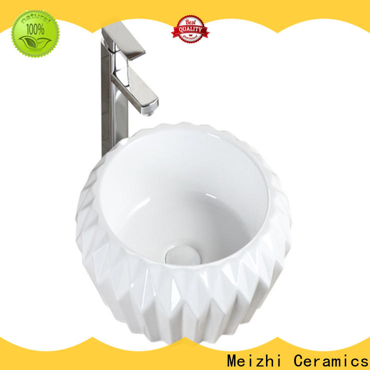Meizhi wash basin size supplier for bathroom