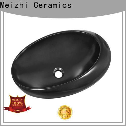 Meizhi high quality black bathroom sink supplier for bathroom