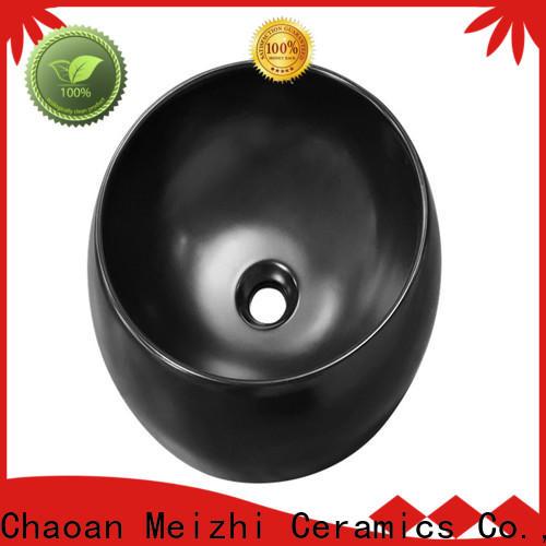 Meizhi black bathroom basin manufacturer for washroom