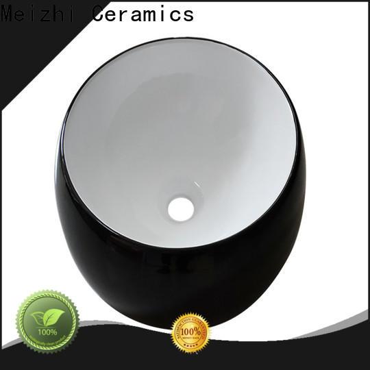 creative black sink basin wholesale for hotel