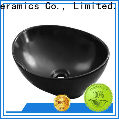 high quality black basin factory for cabinet