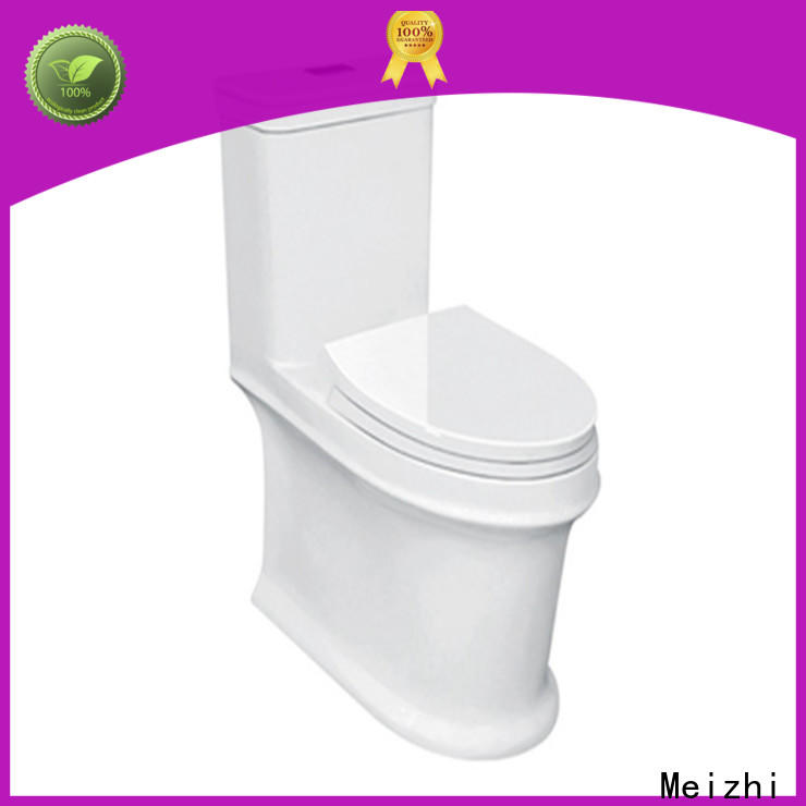Meizhi square european toilet directly sale for hotel
