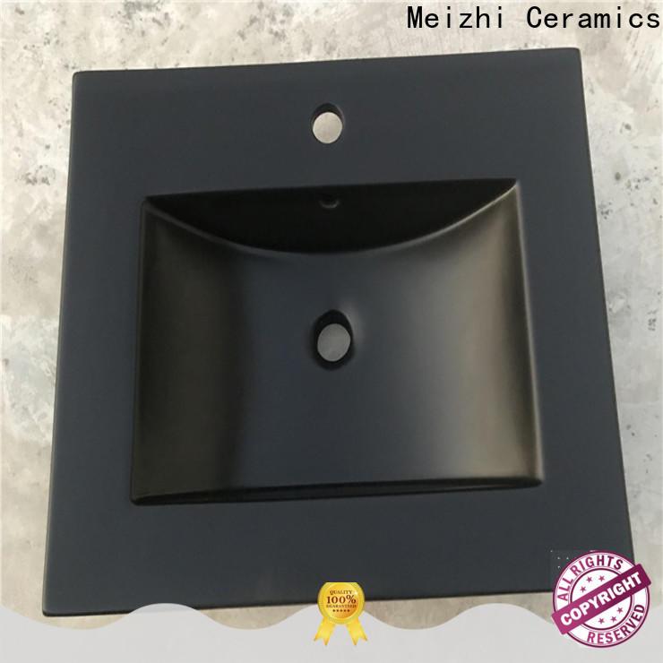 modern black basin manufacturer for hotel