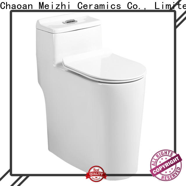 Meizhi top rated toilets manufacturer for hotel