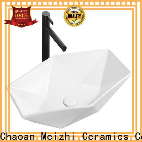 printed gold wash basin supplier for bathroom
