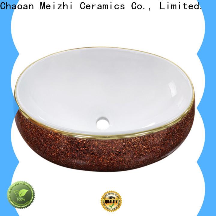 Meizhi wash basin size wholesale for washroom