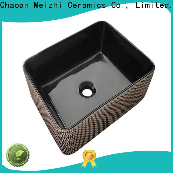 Meizhi black sink basin wholesale for hotel