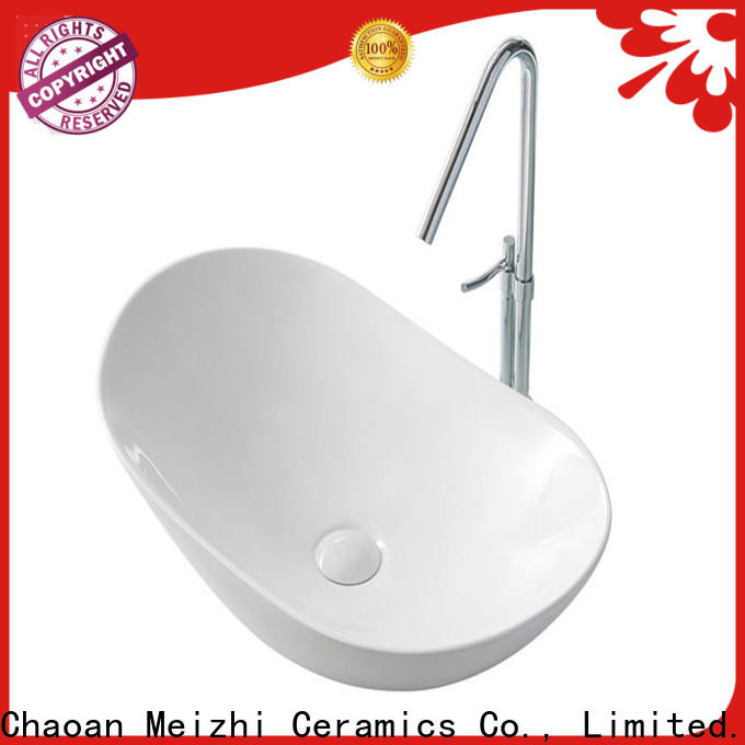Meizhi round wash basin factory price for hotel