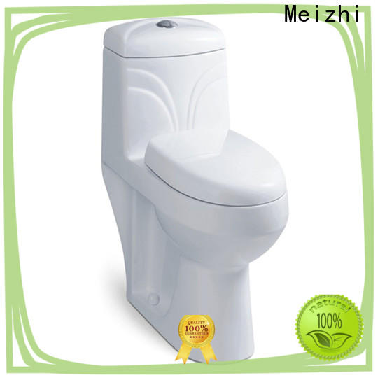 Meizhi one piece round toilet customized for hotel