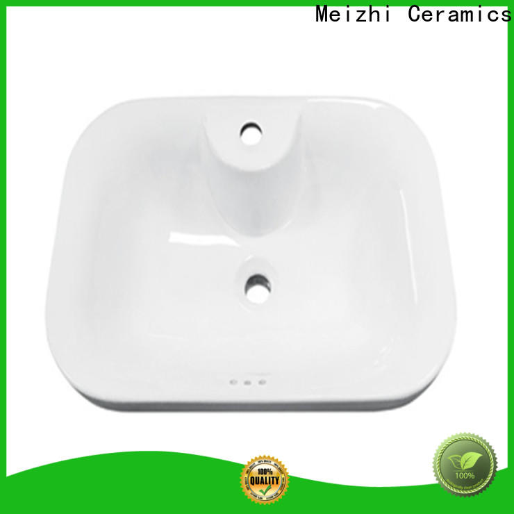 Meizhi high quality above counter bathroom sink directly sale for home