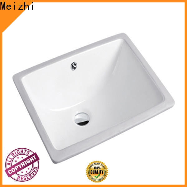 Meizhi high quality countertop basin unit supplier for home