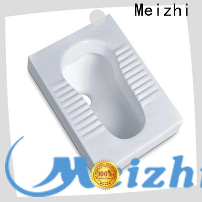 Meizhi high quality modern squat toilet factory for hotel