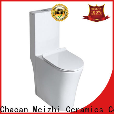 colored one piece elongated toilet wholesale for hotel