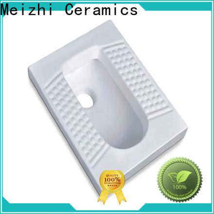 Meizhi modern design modern squat toilet supplier for home