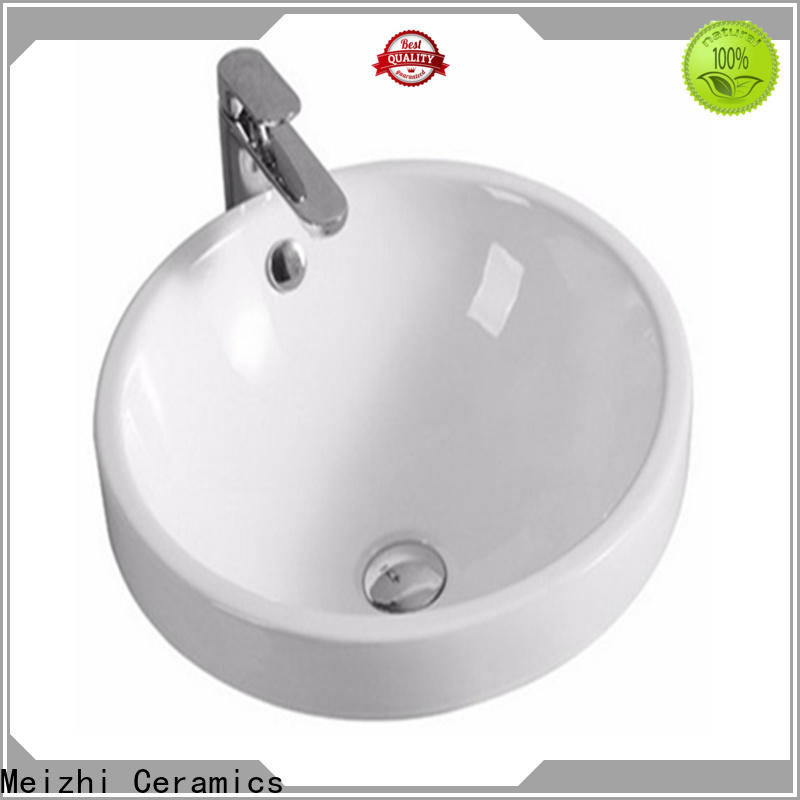 Meizhi high quality wash basin top directly sale for bathroom