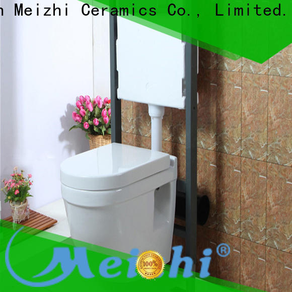 Meizhi self-cleaning wall hung toilets factory for bathroom