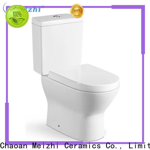 Meizhi washdown eco flush toilet customized for hotel