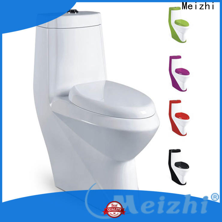 Meizhi one piece comfort height toilet wholesale for bathroom
