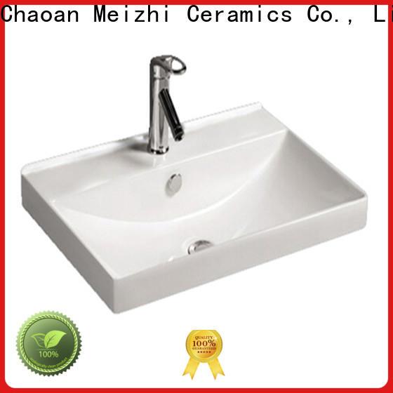 Meizhi ceramic bathroom basins and cabinets wholesale for bathroom