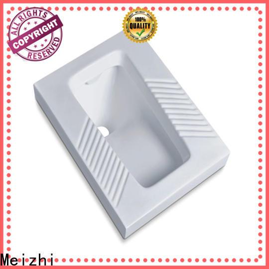 Meizhi modern squat toilet wholesale for bathroom