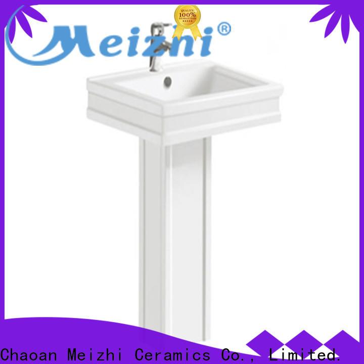 Meizhi high quality washroom basin directly sale for bathroom