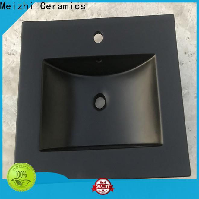 popular black basin manufacturer for washroom