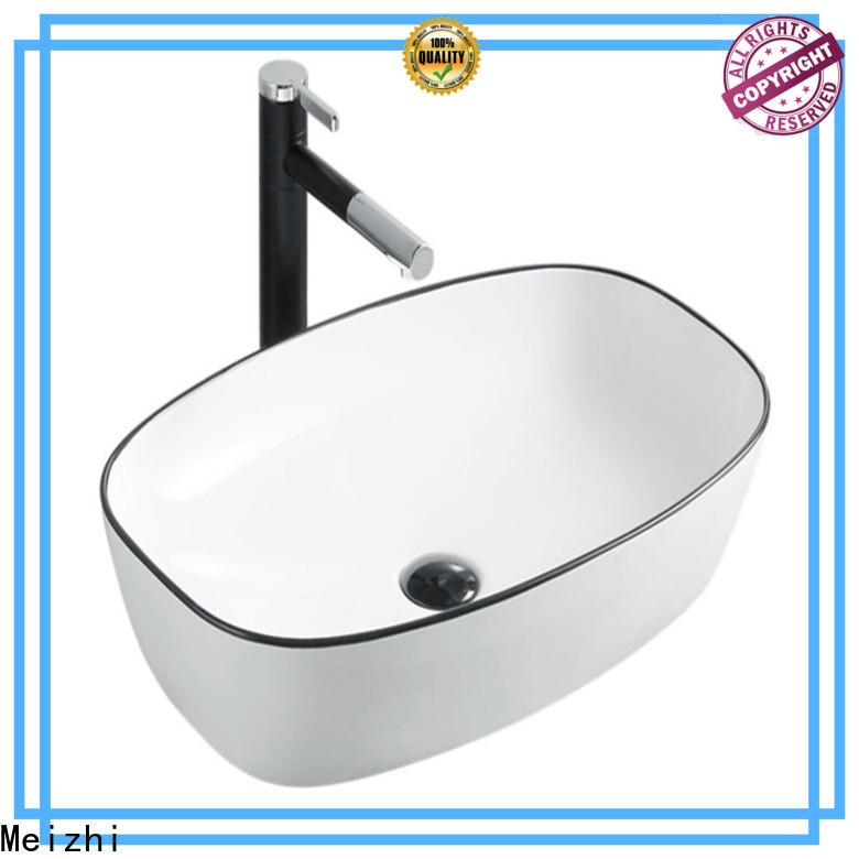 Meizhi modern black basin factory for bathroom