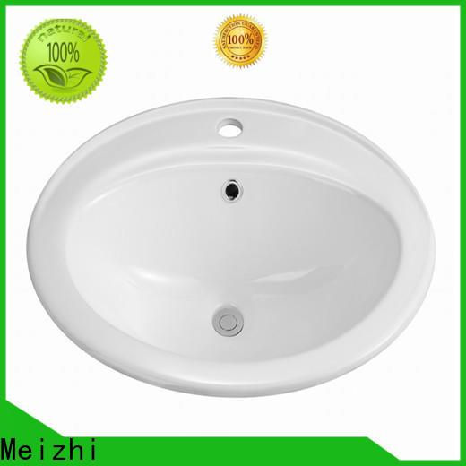 Meizhi above counter bathroom sink wholesale for washroom